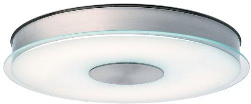 Lithonia 11562 Bnp M4 Disk One-Light Energy Star 15-Inch Wide Indoor Flushmount Light, Brushed Nickel