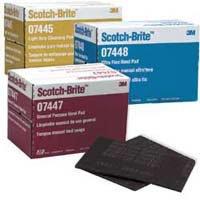 3M Company 7447 Scotch Brite Medium Duty Paint Scuffing Pads