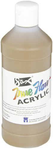 Sax True Flow Medium-Bodied Acrylic Paint - Pint - Raw Sienna