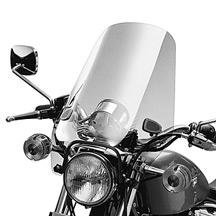 H-D XL Light Smoke Sport Windshield Kit 58192-87a