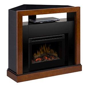 Dimplex Tanner Electric Fireplace Media Center w/ Logs - GDS25-5309WN image B00EW72OJ2.jpg