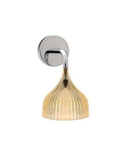 Kartell Lámpara De Pared E' Amarillo Ø 13,5 cm H 14,5 cm