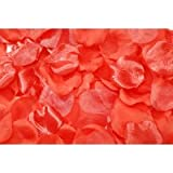Darice RC-7209-35 Decorative Satin Rose Petals, Coral, 100-Pack
