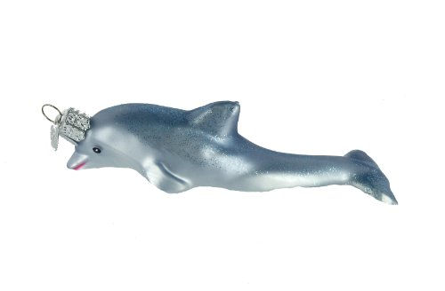 Old World Christmas Playful Dolphin Ornament