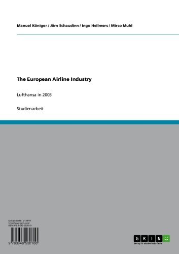 the-european-airline-industry-lufthansa-in-2003-german-edition