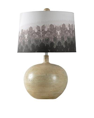 StyleCraft Bryan Keith Design 1-Light Table Lamp, Cream/Rust