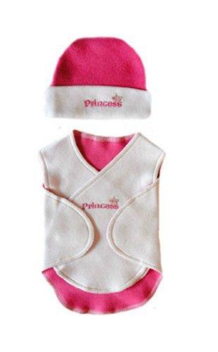 Preemie Princess Nicu Snuggler Wrap Set (Small Preemie 3-6 Pounds) front-728558