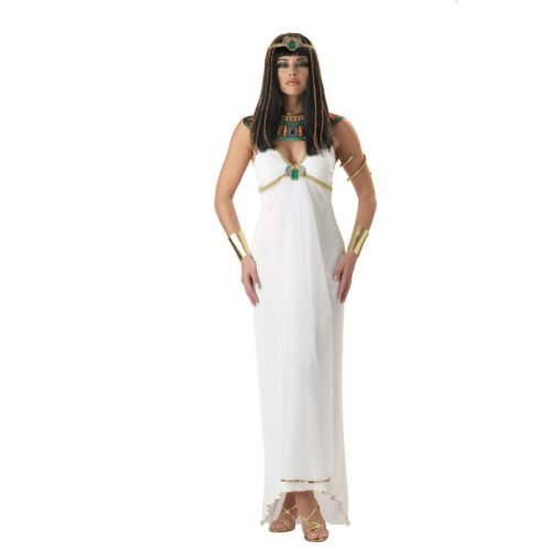 California Costumes Women's Egyptian Queen,White,Small