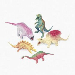 One Dozen (12) Toy Dinosaur Figures