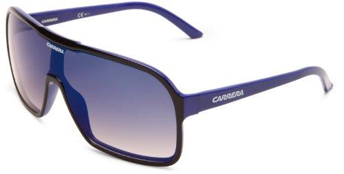 Carrera CARERRA Ca5530S Aviator Sunglasses,Black,Blue Frame,Grey Multi Deg Lens,One Size (Sunglasses Carrera Blue compare prices)
