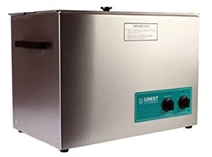 Crest 5 Gallon CP1800HT Heated Industrial Ultrasonic Cleaner & Basket