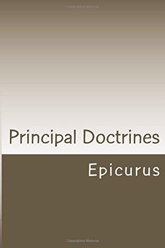 Principal Doctrines