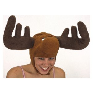 Crazy Moose Novelty Costume Hat (Canada Fun compare prices)