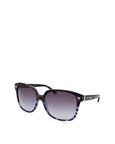 BEBE Women's BB7038 Sunglasses, Blue Marble