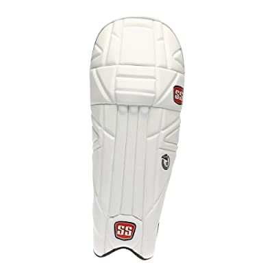 SS Gladiator Men's RH Batting Legguard (White)