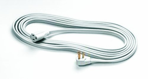 Fellowes 1-Outlet 3-Prong Heavy Duty Indoor Extension Cord, 15-Feet (99596)