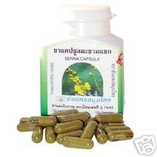Senna Alexandria Caps Reduce Weight 100 Capsules, Thanyaporn Thailand Made In Thailand