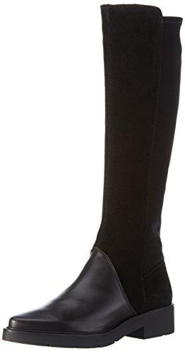 Hispanitas CAMDEN NHI64011 - Stivali alti non imbottiti Donna, colore Nero (Soho-I6 Black Crosta-I6 Black), taglia 37