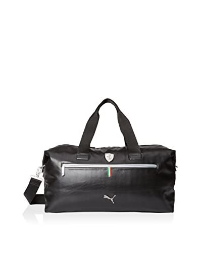 PUMA Men's Ferrari Ls Weekender Bag, Black