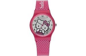 Hello Kitty Pink Polka Dot Watch.