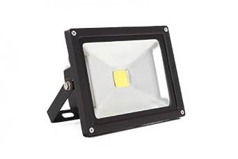 Flutlicht Arbeitsscheinwerfer IP65 mit Akku 2er Set 10W LED Baustrahler tragbar