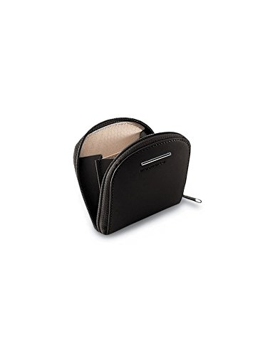 Porta spiccioli a tacco Piquadro Modus nero con lampo PU1033MO/N