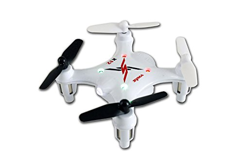 Syma X12S Nano 6-Axis Gyro 4CH RC Quadcopter, White