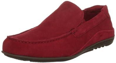 Rockport Men's Cape Noble Red Suede Moccasin K62451  11 UK, 46 EU, 11.5 US