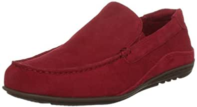 Rockport Men's Cape Noble Red Suede Moccasin K62451  11 UK, 46 EU, 11.5 US