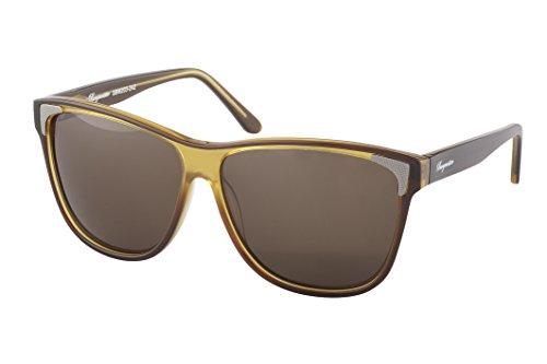 Burgmeister Damen SBM203-242 Vancouver Wayfarer Sonnenbrille, Brown - Braun (Braun Braun)