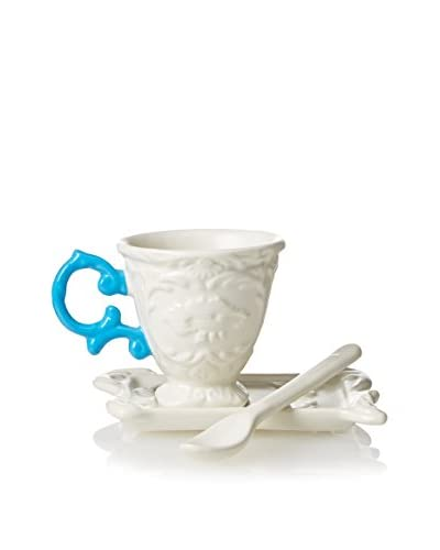 Seletti I-Ware Espresso Set, Light Blue
