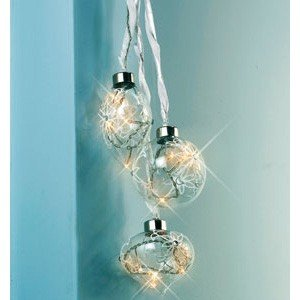 Christmas bauble lights kitchen home for Kitchen spotlights amazon