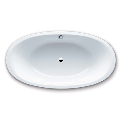 Kaldewei 232 Luxxo Duo Oval Drop-In Tub, Alpine White