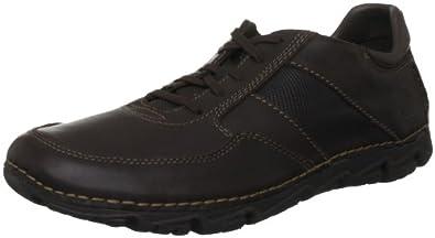 Rockport Men's Lite Mudguard Dark Brown Lace Up K72210 7 UK