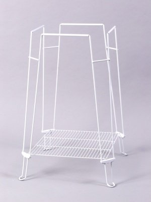 Prevue Pet Products BPV870 Clean Life Metal/Plastic Bird Cage Stand, 28-Inch, White