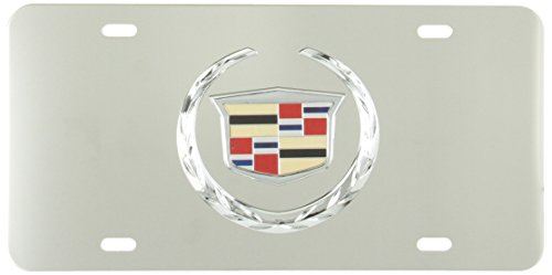pilot-lp051-stainless-steel-plate-cadillac-chrome