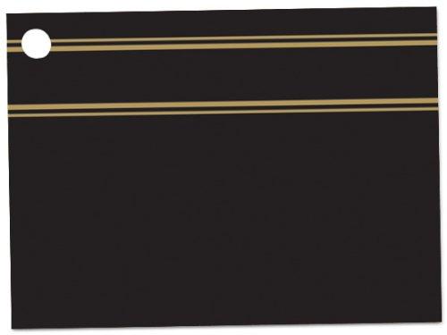 [해외]블랙 & amp; /Black & Gold Theme Gift Cards3-3 4x2-3 4  (30 unit, 6 pack per unit.)