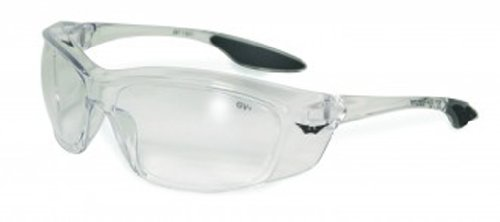 Global Vision Eyewear Forerunner Safety Glasses, Clear Lens