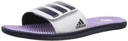 Adidas Womens Adissage Light Slide Water Shoes multi-coloured Mehrfarbig (running white/glow purple s14/collegiate) Size: 44 2/3