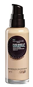 Maybelline Jade Pure.Make-Up Mineral Flüssig Make-Up, 30, sand