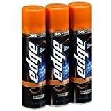 Edge Shave Gel Sensitive Skin with Aloe, 9.5 Oz (Pack of 3)