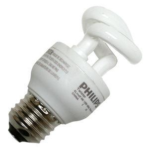 Philips 147926 5W 25-Watt T3 Twister Cfl Light Bulb