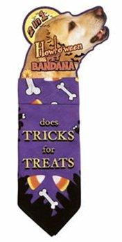 Dog Bandana - Trick or Treats Pet Costume Size Small