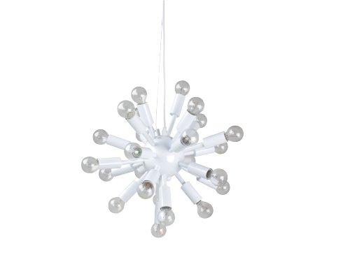 Leitmotiv Pendant Lamp, Cosmos, White