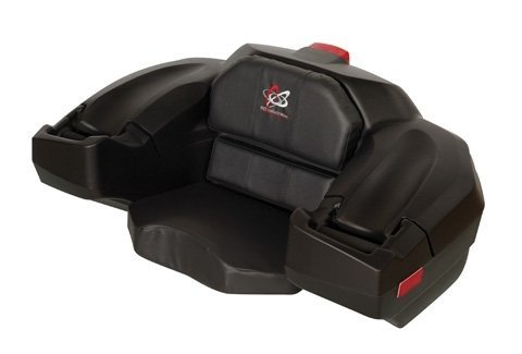 Wes Standard Storage Box And Seat Black (Wes Industries Atv Seat compare prices)