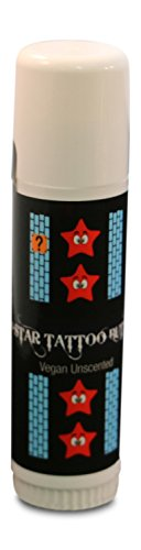 *4-Star Tattoo Butter* Physician Approved 100% Vegan Organic Aftercare Balm Salve Keeps Tattoos at Correct Moisture Level (Brazil Wax Kit compare prices)
