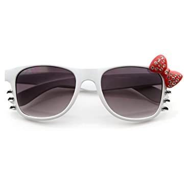 Hello Kitty Bow Whiskers Sunglasses with Rhinestones 5 Colors