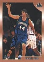 Cherokee Parks Minnesota Timberwolves 1999 Topps Autographed Hand Signed Trading... by Hall+of+Fame+Memorabilia