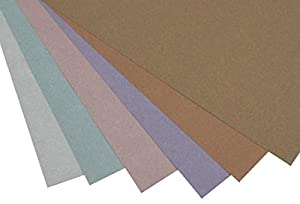 48 Sheet Metallic Scrapbook Paper Pad, Assorted Colors, 12 x 12 Inches (Color: Multi, Tamaño: 1-Pack)