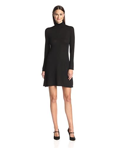 Susana Monaco Women's Kin Flared Turtleneck Dress